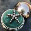 1.38ctw Victorian 5-Star Convertible Pin-Pendant 10