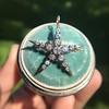 1.38ctw Victorian 5-Star Convertible Pin-Pendant 21