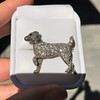 1.85ctw Art Deco Dog Brooch 8