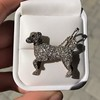 1.85ctw Art Deco Dog Brooch 12