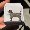 1.85ctw Art Deco Dog Brooch 6