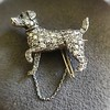 1.85ctw Art Deco Dog Brooch 5