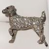 1.85ctw Art Deco Dog Brooch 0