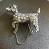 1.85ctw Art Deco Dog Brooch 4