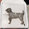 1.85ctw Art Deco Dog Brooch 3