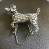1.85ctw Art Deco Dog Brooch 13