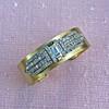 2.50ctw French Art Deco Brooch Cuff Conversion 2