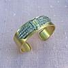 2.50ctw French Art Deco Brooch Cuff Conversion 12