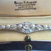 2.62ctw Edwardian Diamond & Pearl Brooch 11