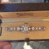 2.62ctw Edwardian Diamond & Pearl Brooch 0