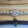 2.62ctw Edwardian Diamond & Pearl Brooch 12