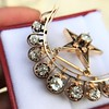 2.75ctw Victorian Crescent and Star Brooch 6