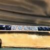 2.80ctw Art Deco Bar Brooch 8