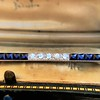2.80ctw Art Deco Bar Brooch 2