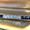 2.80ctw Art Deco Bar Brooch 10