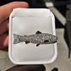 3.00ctw Art Deco Diamond Fish Brooch 0