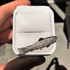 3.00ctw Art Deco Diamond Fish Brooch 2