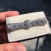 3.74ctw Art Deco Diamond and Sapphire Brooch 6
