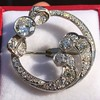 4.50ctw Old European Cut Edwardian Bow Brooch 10