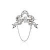 5.20ctw Victorian Bow Motif Brooch 5