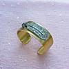 3.80ctw Art Deco Asscher & OEC Diamond Brooch Cuff Conversion 3