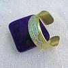 3.80ctw Art Deco Asscher & OEC Diamond Brooch Cuff Conversion 9