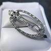 Art Deco Diamond and Onyx Brooch 2