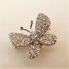 Petite Butterfly Pave Diamond Brooch 6