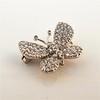 Petite Butterfly Pave Diamond Brooch 7