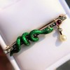 Victorian Antique Serpent Diamond and Ruby Brooch 7