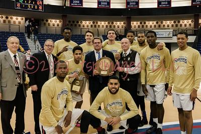 2017 Brookdale Mens Basketball Region XIX Champs