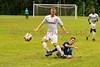 Brookdale's Jeremy Thompson (17) during the Brookdale Men's Soccer vs Sussex CC at Brookdale CC Soccer Field, Middletown, NJ.  9/13/18.  Tom Smith | tspimages.com