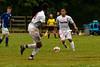 Brookdale's Isreal Olvera (8) during the Brookdale Men's Soccer vs Sussex CC at Brookdale CC Soccer Field, Middletown, NJ.  9/13/18.  Tom Smith | tspimages.com