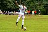 Brookdale's Oscar Marmol (21) during the Brookdale Men's Soccer vs Sussex CC at Brookdale CC Soccer Field, Middletown, NJ.  9/13/18.  Tom Smith | tspimages.com