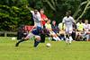 Brookdale's Enrique Perez-Lopez (7) during the Brookdale Men's Soccer vs Sussex CC at Brookdale CC Soccer Field, Middletown, NJ.  9/13/18.  Tom Smith | tspimages.com