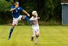 Brookdale's Max Lane (9) during the Brookdale Men's Soccer vs Sussex CC at Brookdale CC Soccer Field, Middletown, NJ.  9/13/18.  Tom Smith | tspimages.com