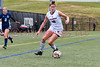 Brookdale's Haley Dalonzo during the Brookdale CC vs Bucks County CC  Region XIX WSOC Final at Ocean County CC Soccer Field, Toms River, NJ.  10/26/18.  Tom Smith | tspimages.com