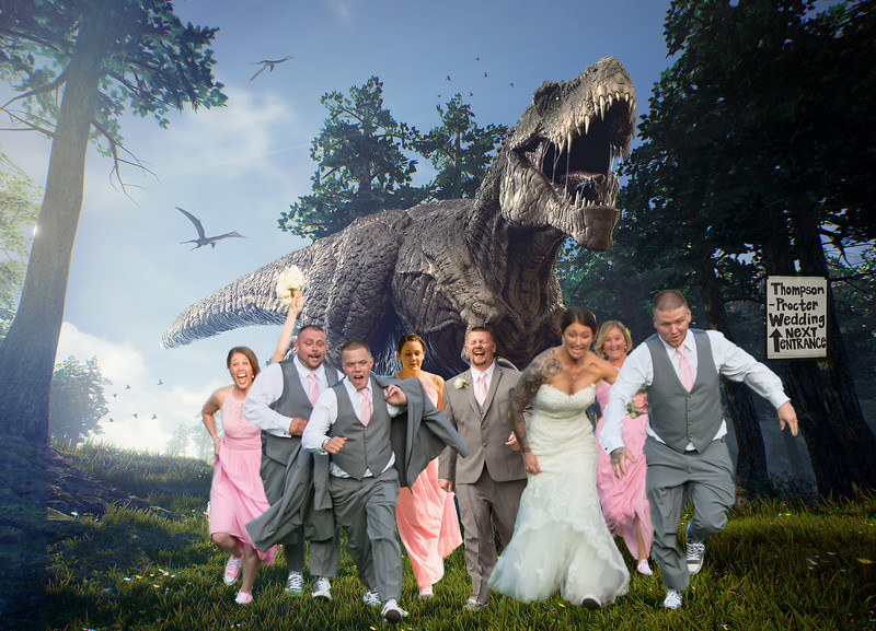 T-REX Montage_Procter Wedding3