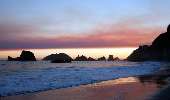 Brookings, Oregon Sunset 2015