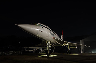 Concorde G-BBDG at Brooklands