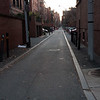 Public Alley (Number ?) - parallel to and tucked between Comm Ave and Marlborough Street, running straight through from Arlington Street to Charlesgate East - a quieter ride home.