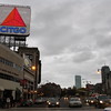 Kenmore Square. A last look back towards Boston as I headed back up Beacon Street, and home, racing against the falling darkness.