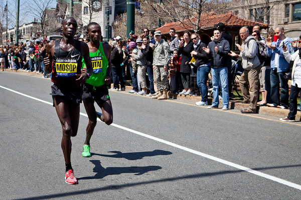 Boston's 115th Marathon, Boston_Marathon_2011_photos, Geoffrey Mutai
