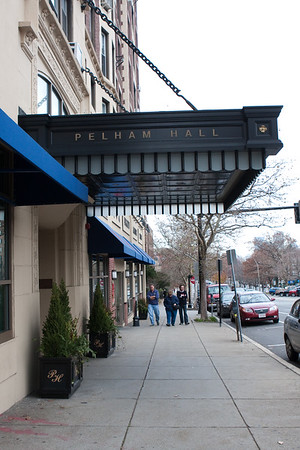 Pelham Hall. Keep walking straight ahead down Beacon Street, in approximately three miles you'll be at the Boston Public Gardens.