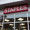 Thank God for my Staples store, even though its construction - for two years - nearly drove me crazy. This place has become a staple to me. I love simply running across the street when I need paper, or ink, or copies, or 3-ring binders. And the crew is very friendly and helpful.