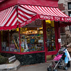 Irving's Toy and Card Shop, run by Ethel Weiss, barely a block away from Devotion School - filled with toys and penny candy, this tiny hide-away is a favorite after-school stop and every child's dream (and every parent's nightmare?). It's been here forever.