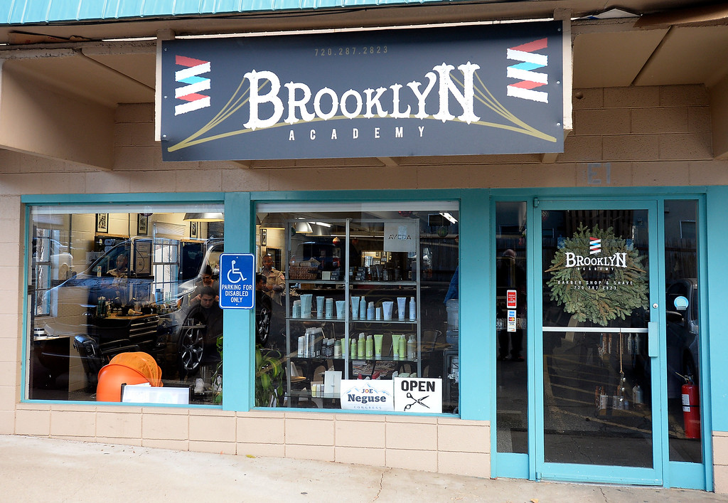 . BOULDER, CO - November 28, 2018: The Brooklyn Barber Academy in Boulder will be moving to a new location in March yet to be determined. (Photo by Cliff Grassmick/Staff Photographer)
