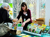 Elizabeth Peters, right, is director of publications for Brooklyn Botanic Garden (BBG).  BBG publishes about two All Region Guides each year. Most recent guides include Community Gardening and Healthy Soils.