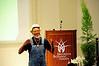 The keynote speaker:  Maurice Small, City Fresh Program Coordinator,<br /> New Agrarian Center, Cleveland, Ohio