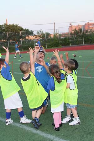 BROOKLYN - June 29: Brooklyn Italians Soccer Academy Practice at John Dewey Field in Brooklyn, NY.